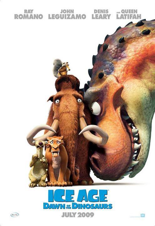 L'Âge de glace 3 - Le Temps des dinosaures : affiche Carlos Saldanha