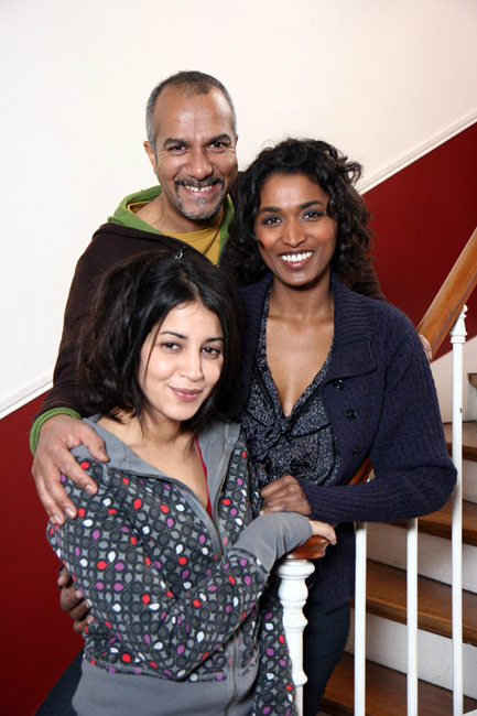 Les Tricheurs : Photo Leïla Bekhti, Pascal Légitimus, Sara Martins