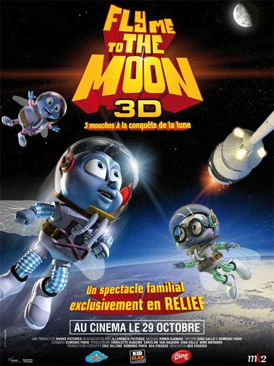 Fly Me to the Moon : Affiche