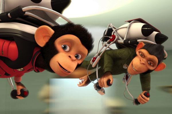Les Chimpanzés de l'espace : Photo Kirk De Micco