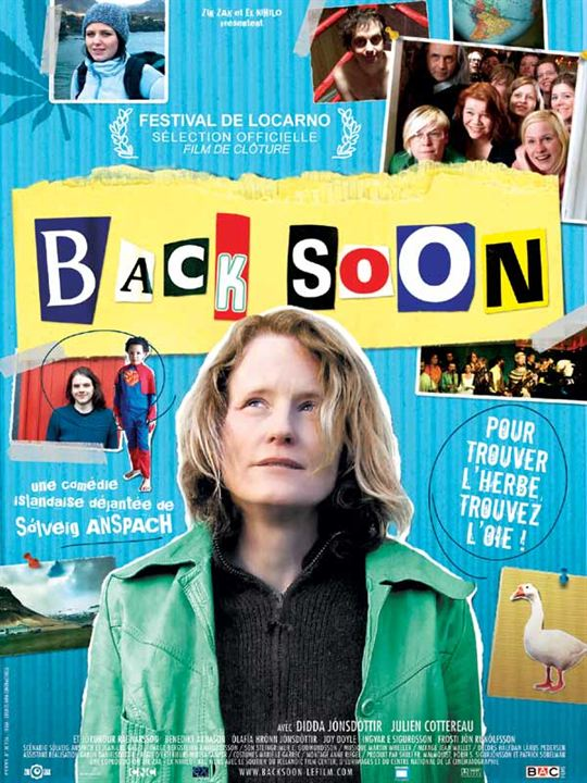 Back Soon : Affiche