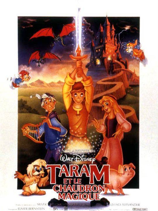 Taram et le chaudron magique : Affiche