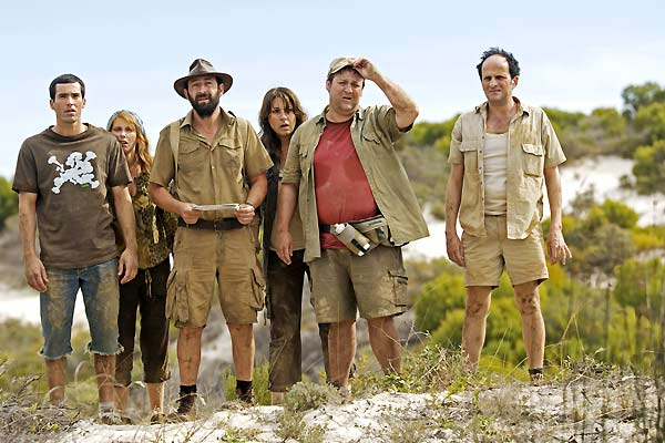 Safari : Photo David Saracino, Frédérique Bel, Guy Lecluyse, Kad Merad, Lionel Abelanski