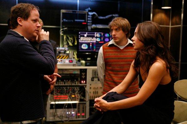Dollhouse : Photo Eliza Dushku, Fran Kranz, Joss Whedon