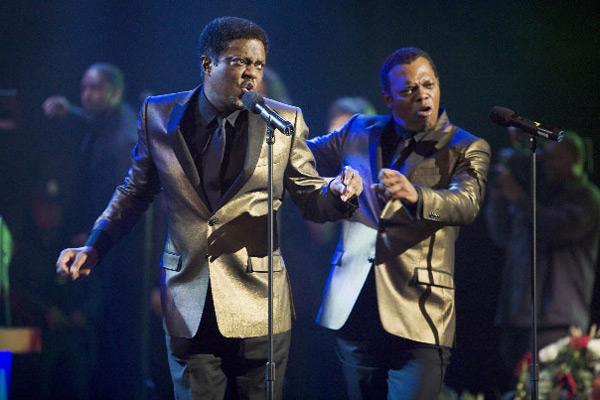 Soul Men : Photo Bernie Mac, Malcolm D. Lee, Samuel L. Jackson