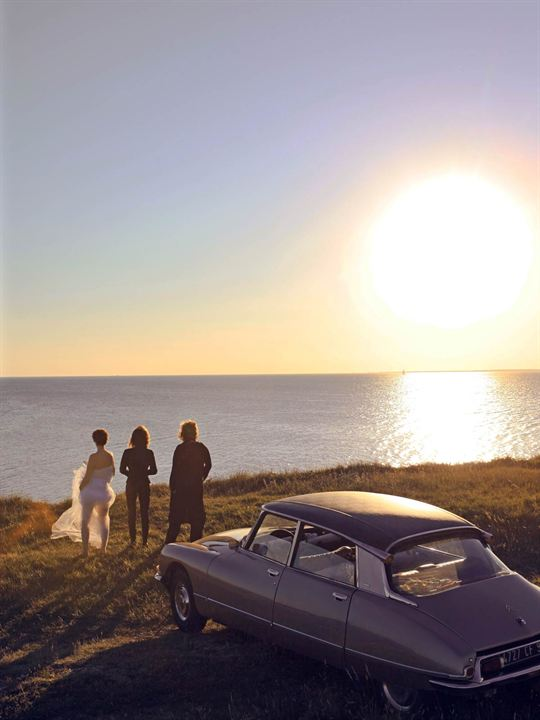 Thelma, Louise et Chantal : Photo Benoît Pétré, Caroline Cellier, Catherine Jacob, Jane Birkin