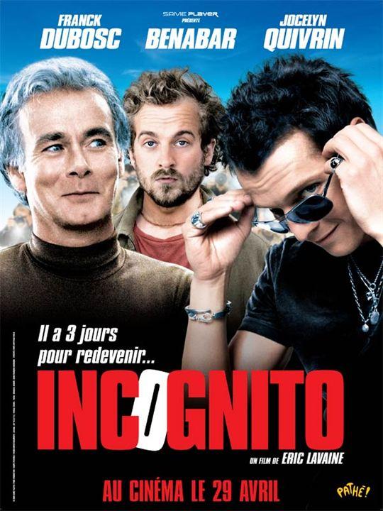 Incognito : Affiche Franck Dubosc