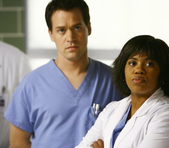 Grey's Anatomy : Photo Chandra Wilson, T.R. Knight