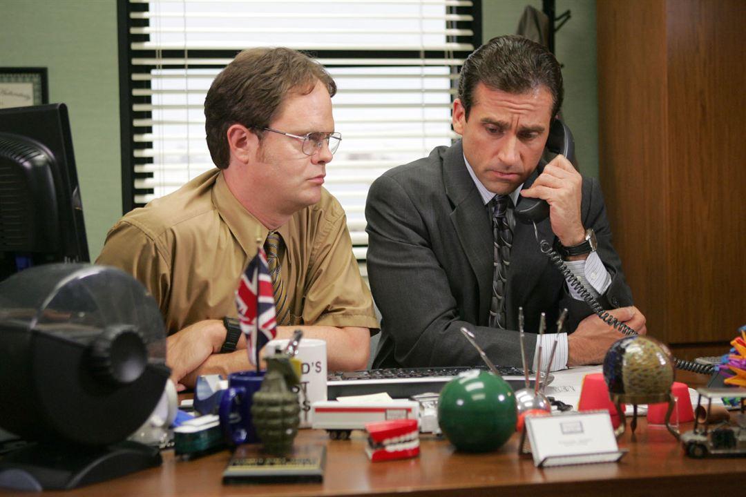 The Office (US) : Photo Rainn Wilson, Steve Carell