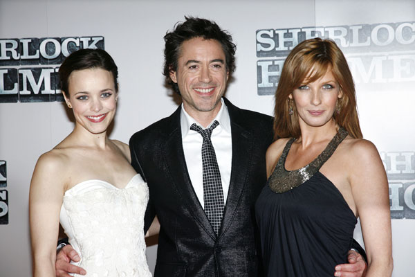 Sherlock Holmes : Photo promotionnelle Kelly Reilly, Rachel McAdams, Robert Downey Jr.