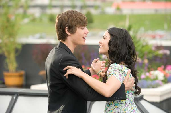 High School Musical 3 : nos années lycée : Photo Kenny Ortega, Vanessa Hudgens, Zac Efron