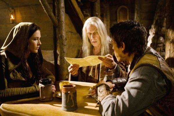 Legend of the Seeker : l'épée de vérité : Photo Bridget Regan, Bruce Spence, Craig Horner