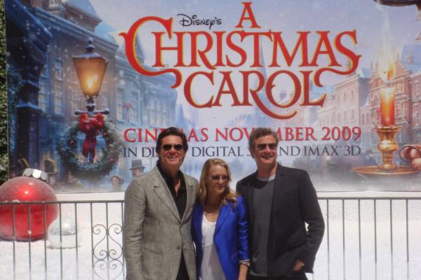Le Drôle de Noël de Scrooge : Photo Colin Firth, Jim Carrey, Robin Wright
