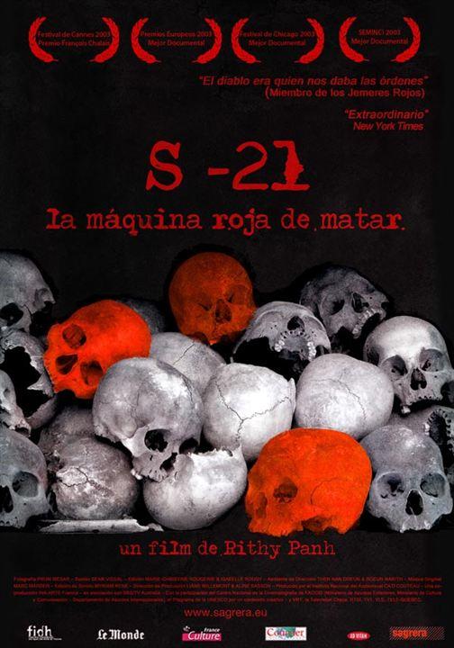 S21, la machine de mort Khmere Rouge : Affiche