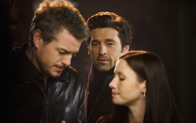 Grey's Anatomy : Photo Chyler Leigh, Eric Dane, Patrick Dempsey