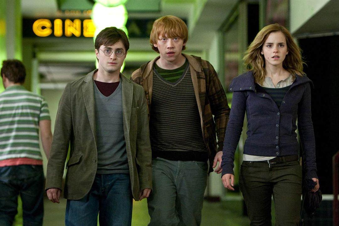 Harry Potter et les reliques de la mort - partie 1 : Photo Daniel Radcliffe, Emma Watson, Rupert Grint