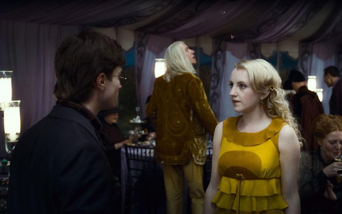 Harry Potter et les reliques de la mort - partie 1 : Photo Daniel Radcliffe, Evanna Lynch