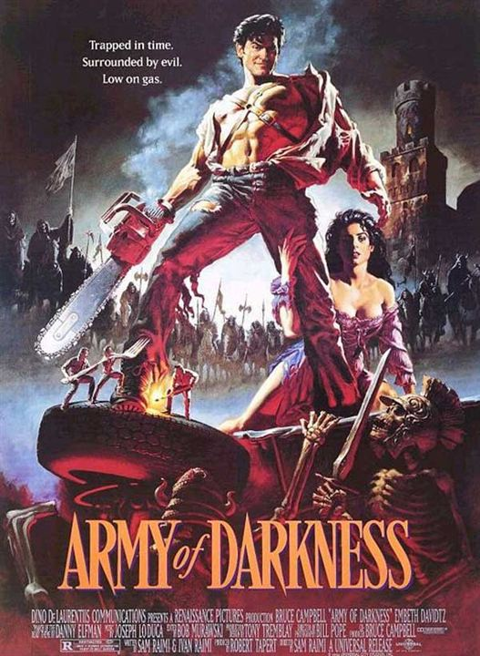 Evil Dead III : l'armée des ténèbres : Affiche Bruce Campbell
