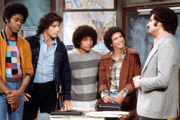 Welcome Back, Kotter : Photo Gabe Kaplan, John Travolta, Lawrence-Hilton Jacobs, Robert Hegyes, Ron Palillo