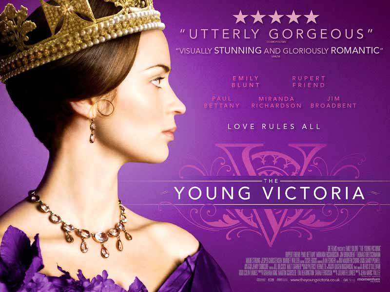Victoria : les jeunes années d'une reine : Affiche