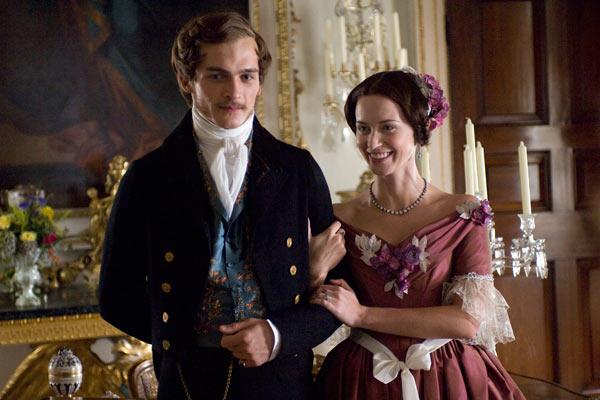 Victoria : les jeunes années d'une reine : Photo Emily Blunt, Rupert Friend