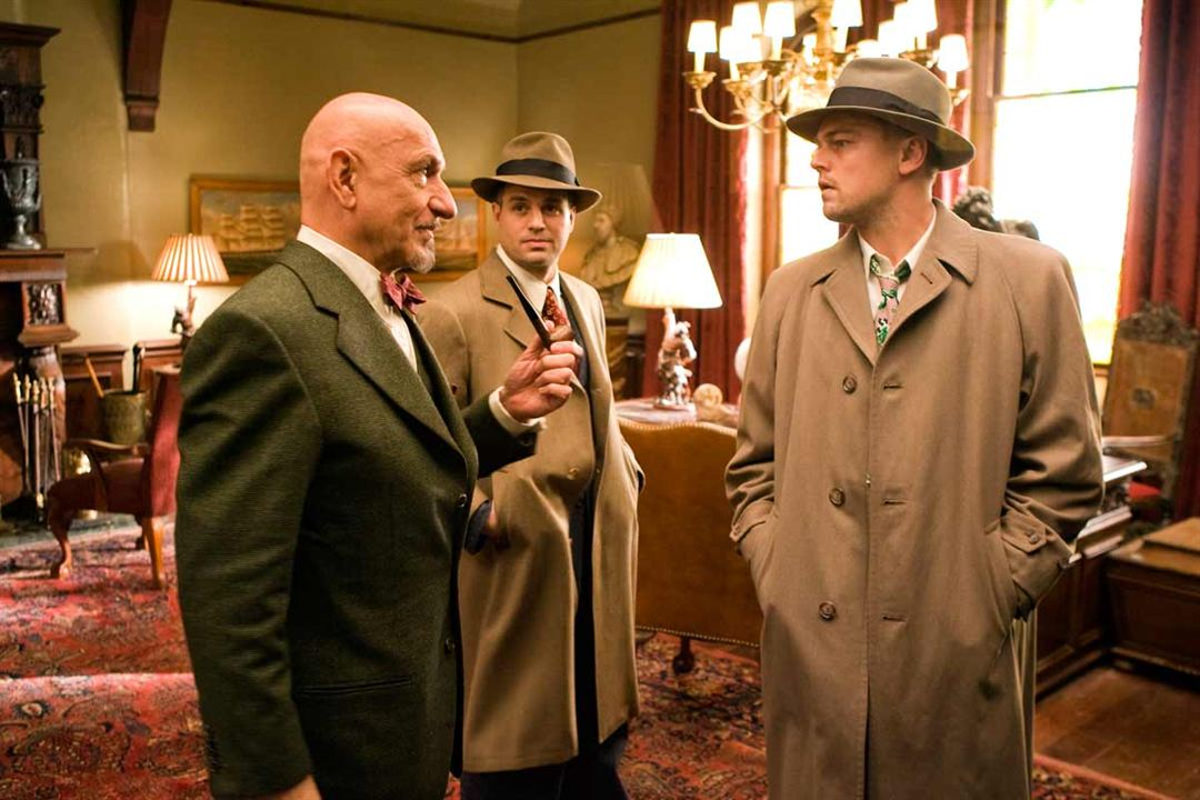 Shutter Island : Photo Ben Kingsley, Leonardo DiCaprio, Mark Ruffalo