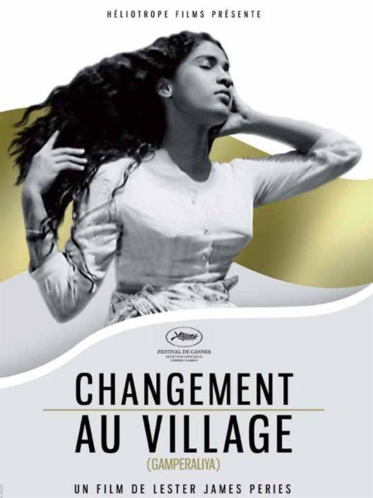 Gamperaliya changement au village : Affiche Lester James Peries