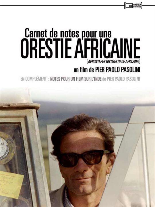 Carnet de notes pour une Orestie africaine : Affiche