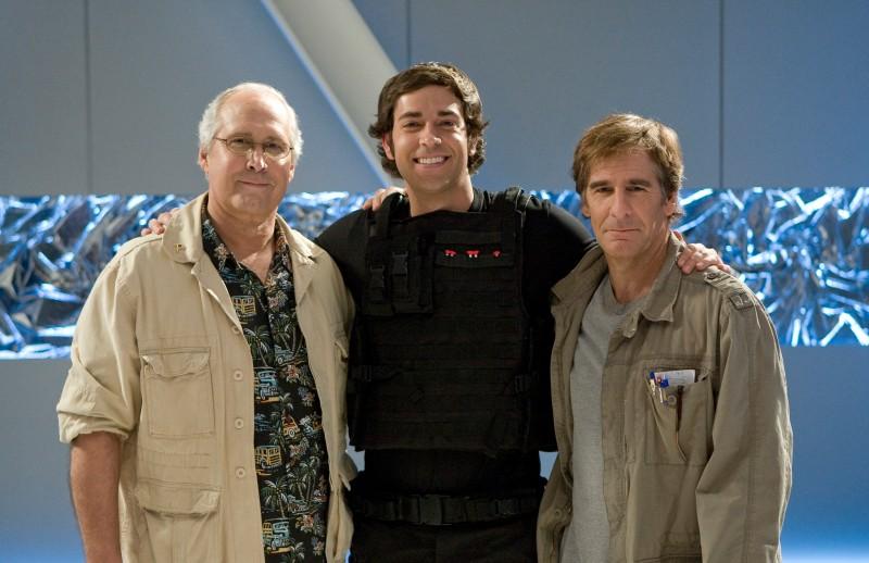 Chuck : Photo Chevy Chase, Scott Bakula, Zachary Levi