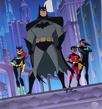 The New Batman Adventures : Affiche