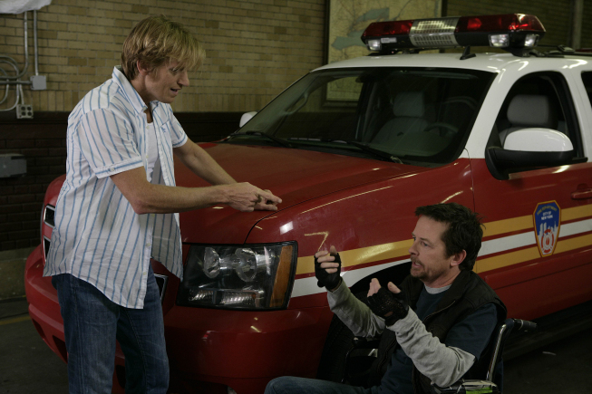 Rescue Me, les héros du 11 septembre : Photo Denis Leary, Michael J. Fox