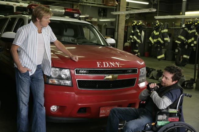 Rescue Me, les héros du 11 septembre : Photo Denis Leary, Michael J. Fox