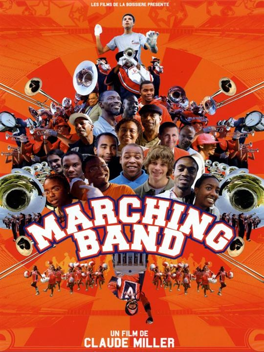 Marching Band : affiche Claude Miller
