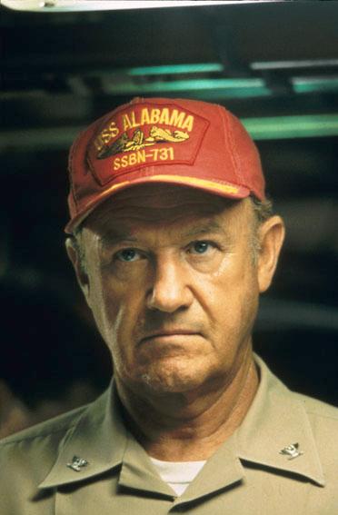 USS Alabama : Photo Gene Hackman