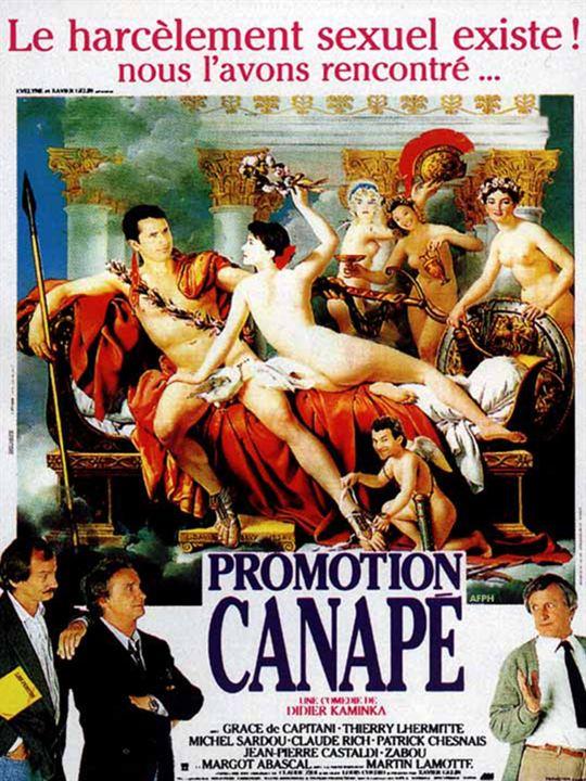 Promotion canapé : Affiche