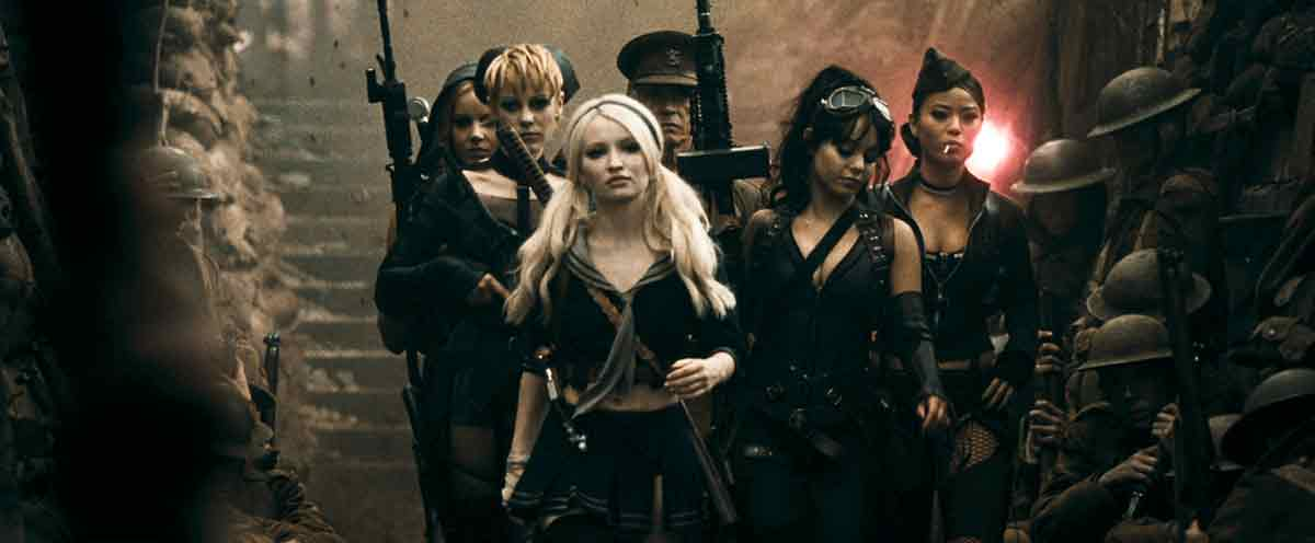 Sucker Punch : Photo Abbie Cornish, Emily Browning, Jamie Chung, Jena Malone, Vanessa Hudgens