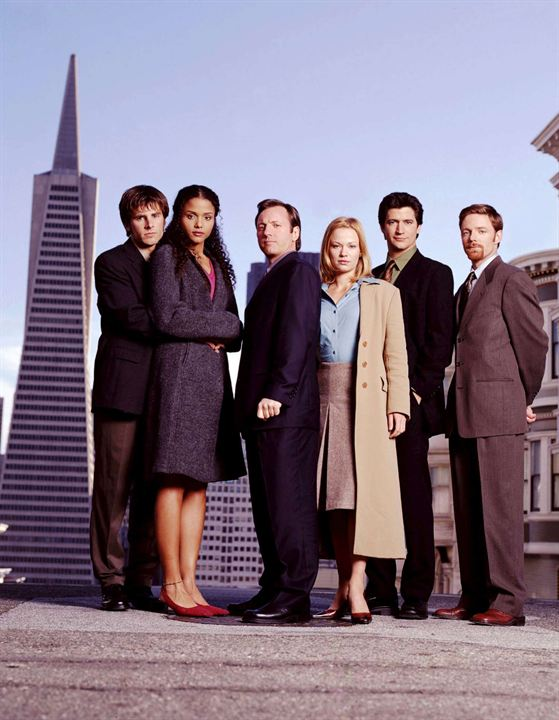 First Years : Photo Eric Schaeffer, James Roday Rodriguez, Ken Marino, Mackenzie Astin, Samantha Mathis