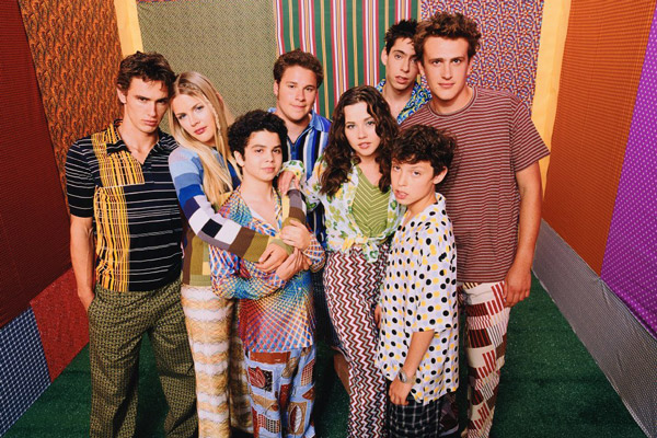 Freaks and Geeks : Photo Busy Philipps, James Franco, Jason Segel, John Francis Daley, Linda Cardellini