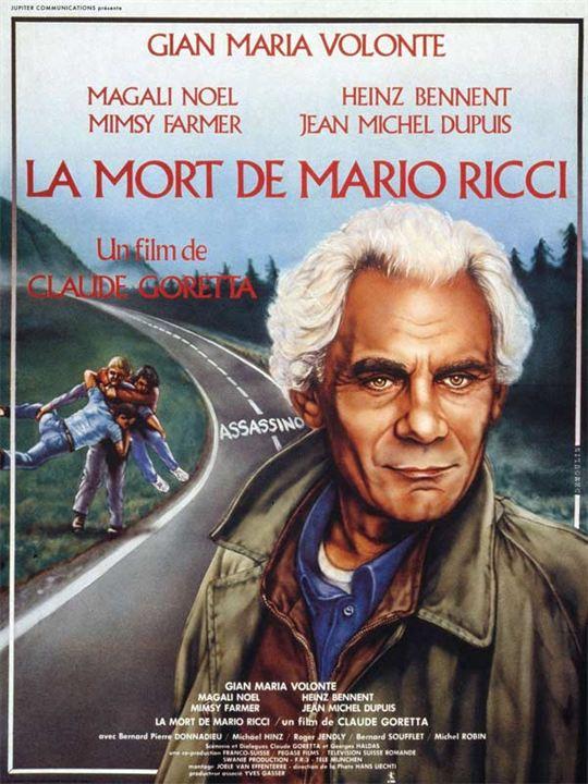 La Mort de Mario Ricci : Affiche Claude Goretta, Gian Maria Volonte