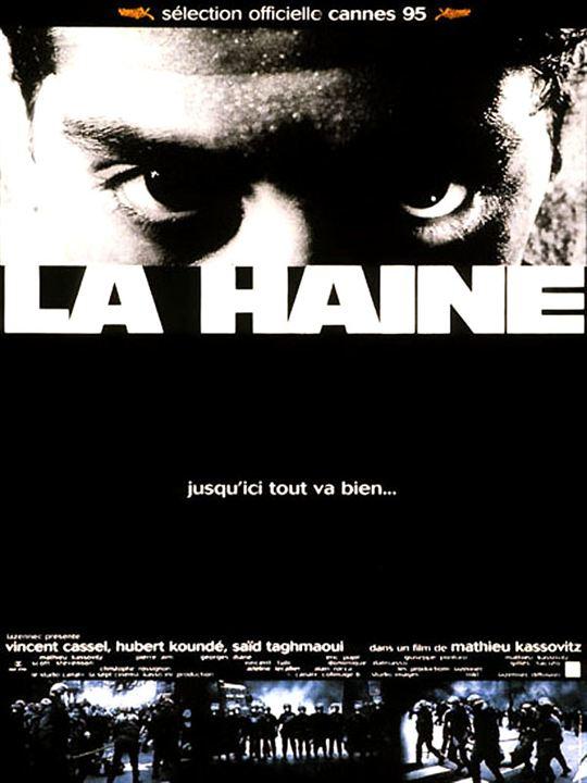 La Haine : Affiche Hubert Koundé