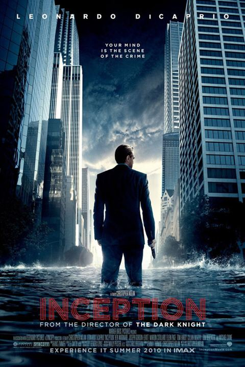 Inception : Affiche Leonardo DiCaprio