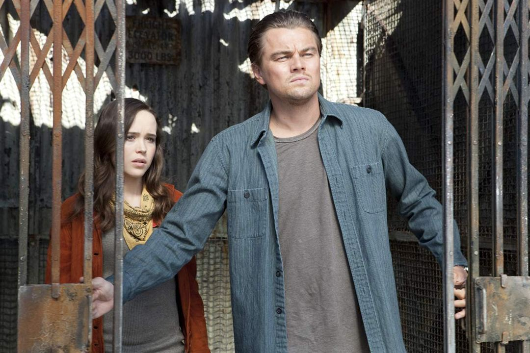 Inception : Photo Ellen Page, Leonardo DiCaprio