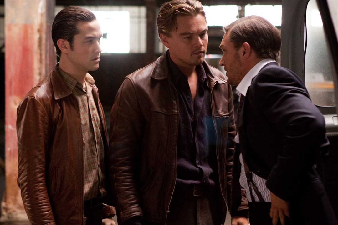 Inception : Photo Joseph Gordon-Levitt, Leonardo DiCaprio, Tom Hardy