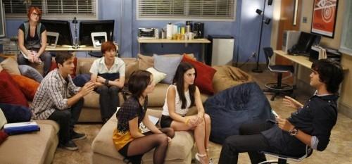 90210 Beverly Hills Nouvelle Génération : Photo Jessica Lowndes, Jessica Stroup, Michael Steger, Rumer Willis
