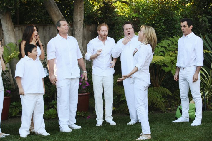 Modern Family : Photo Ed O'Neill, Eric Stonestreet, Jesse Tyler Ferguson, Julie Bowen, Rico Rodriguez