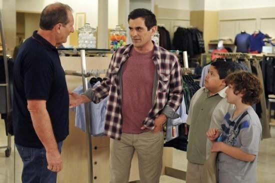 Modern Family : Photo Ed O'Neill, Nolan Gould, Rico Rodriguez, Ty Burrell
