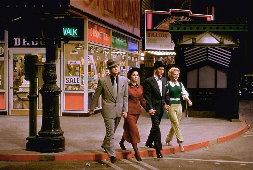 Blanches colombes et vilains messieurs : Photo Frank Sinatra, Jean Simmons, Marlon Brando, Vivian Blaine