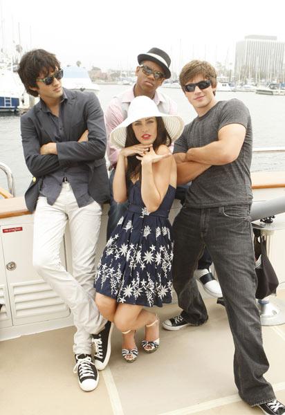90210 Beverly Hills Nouvelle Génération : Photo Jessica Lowndes, Matt Lanter, Michael Steger, Tristan Wilds