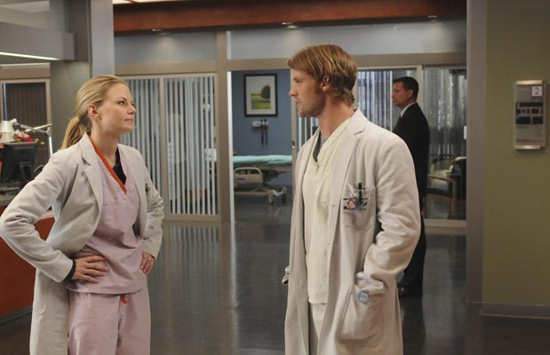 Dr House : Photo Jennifer Morrison, Jesse Spencer