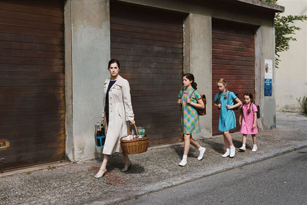 Gamines : Photo Amira Casar, Eleonore Faucher, Louise Herrero, Roxane Monnier, Zoé Duthion